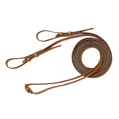 De-luxe leather draw reins