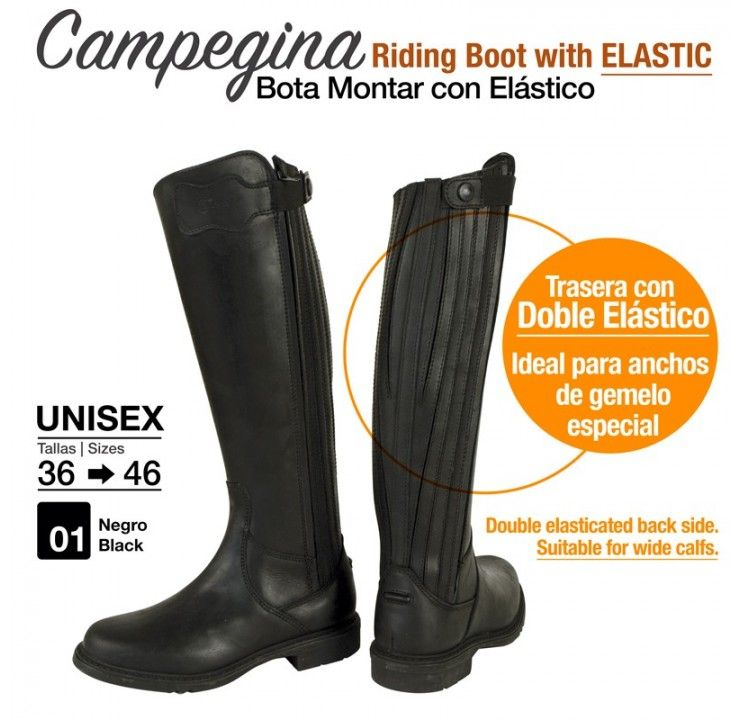 La Campegina riding boot