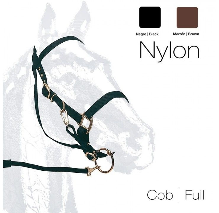 Nylon combination bridle/headcollar
